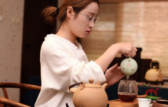 小史同学来尘外培训茶艺中茶艺风采