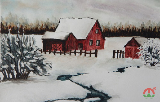 第三张雪景