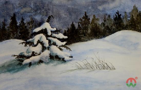 第一张雪景