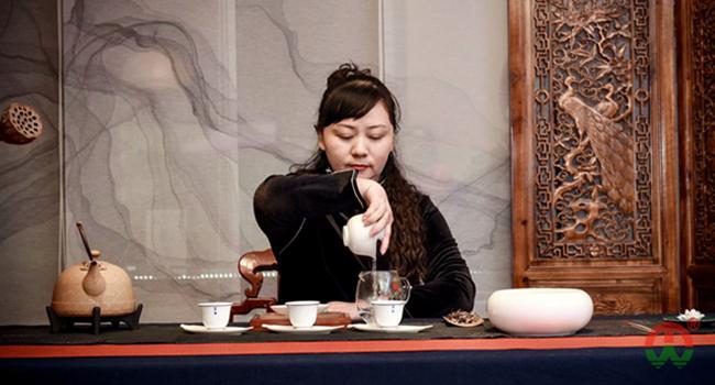 马姐同茶艺风采